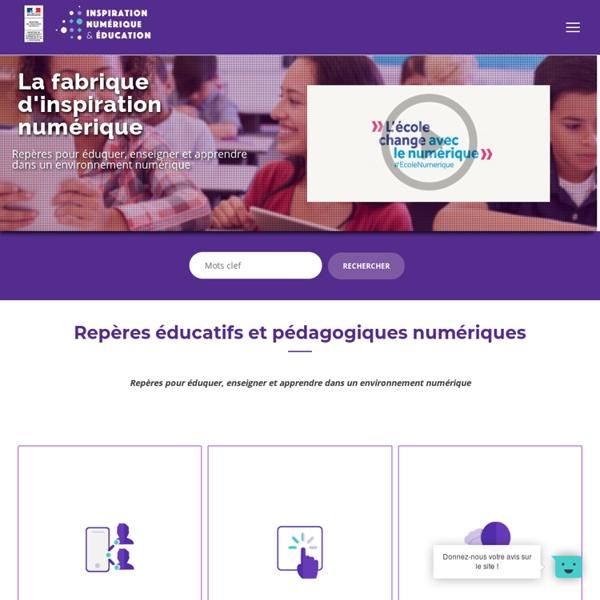 Inspiration numerique - inspiration-numérique-education.fr