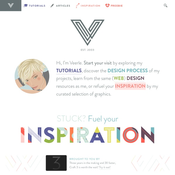 Veerle's blog 2.0 - Webdesign - XHTML CSS
