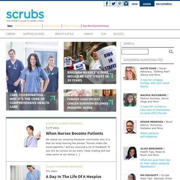 Articles for nurses-Scrubs