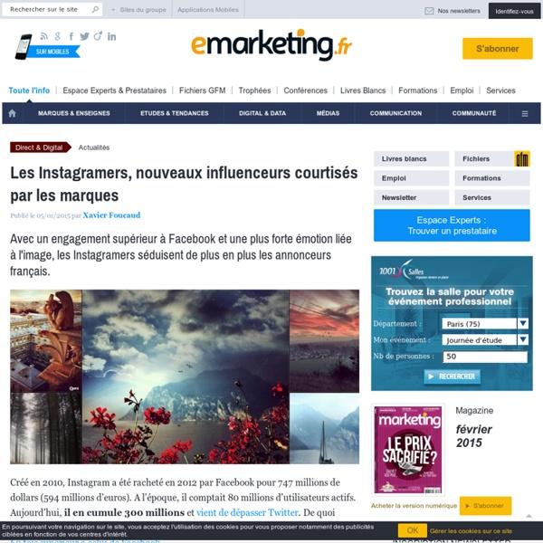 Les Instagramers, nouveaux influenceurs courtisés par les marques