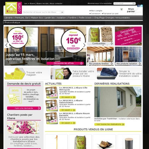 Kbane - maison bbc, maison ecologique, logement eco, maison bio