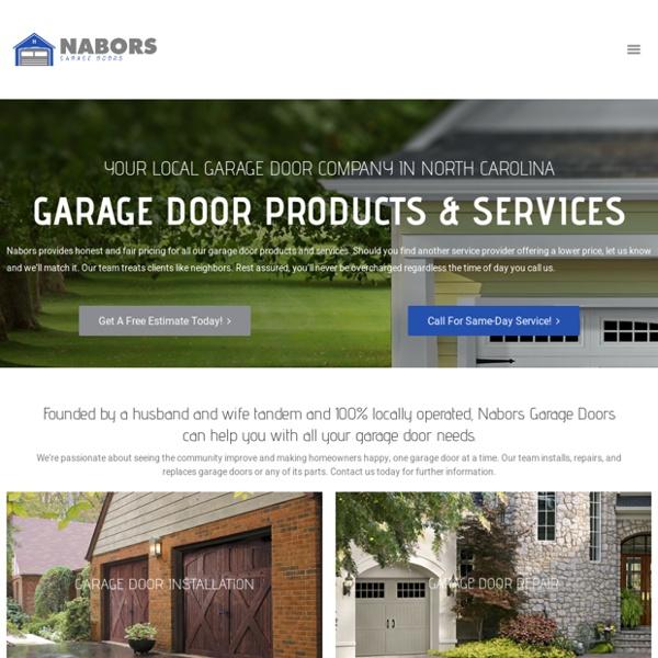 Garage Door Repair Hickory NC