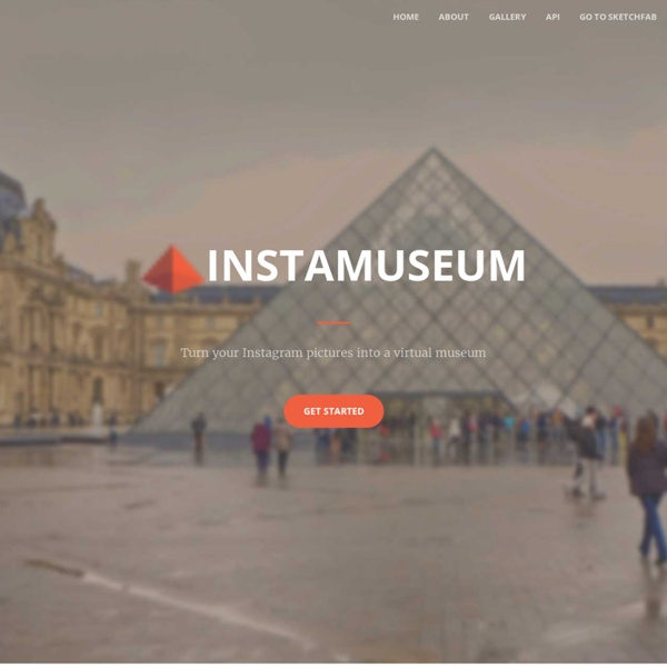 Instamuseum: Turn Your Instagram Pictures into a Virtual Museum