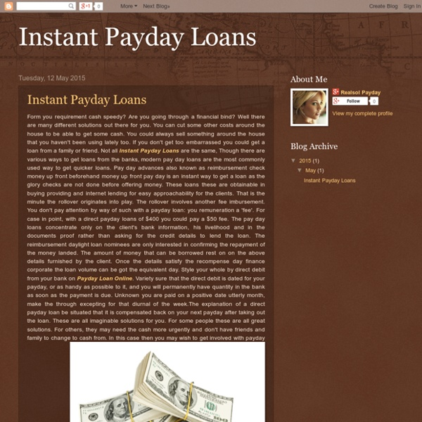 instant payday loans pearltrees