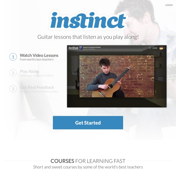 Instinct - The easiest way to learn a musical instrument - StumbleUpon