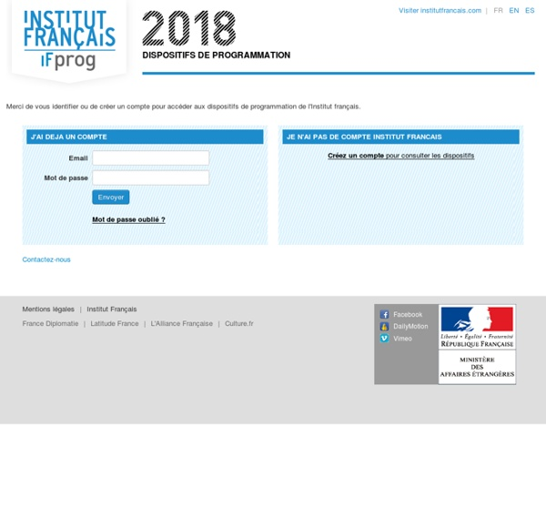 Institut français / IFprog