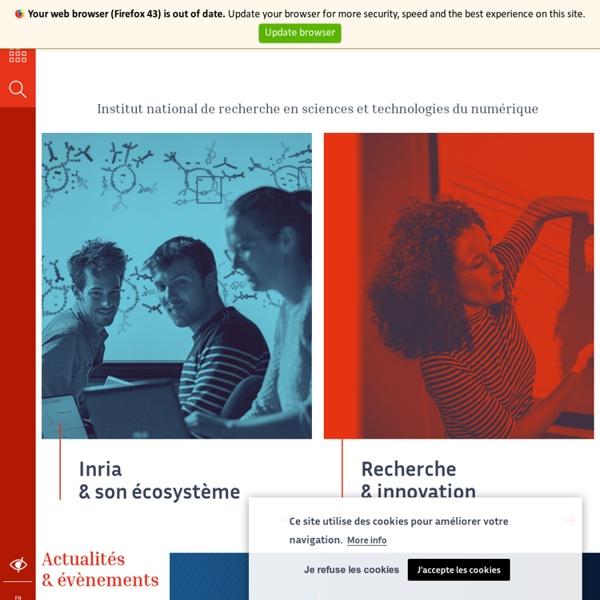 Inria - Inventeurs du monde numérique