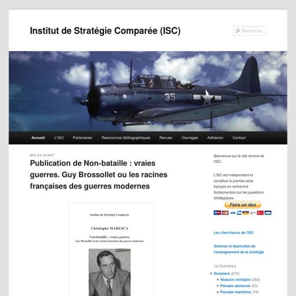 Institut de Stratégie Comparée (ISC)