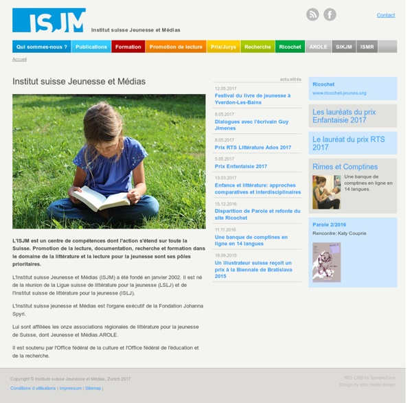 Institut suisse Jeunesse et Médias (ISJM)