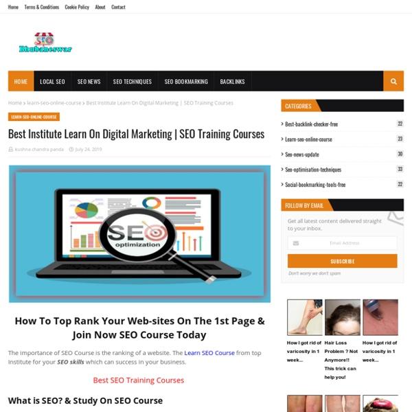 Best Institute Learn On Digital Marketing