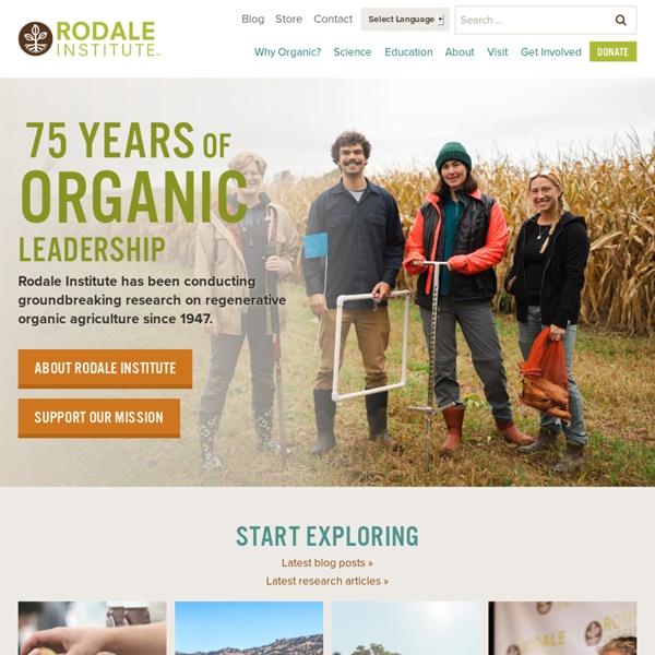 Organic Pioneers since 1947