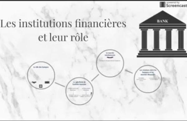 Les institutions financières et leur rôle