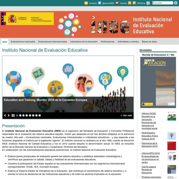 InicioInstituto Nacional de Evaluación Educativa