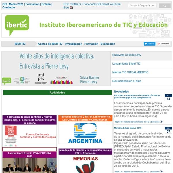 Instituto Iberoamericano de TIC y Educación IBERTIC