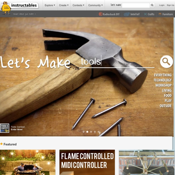 Instructables - DIY How To Make Instructions