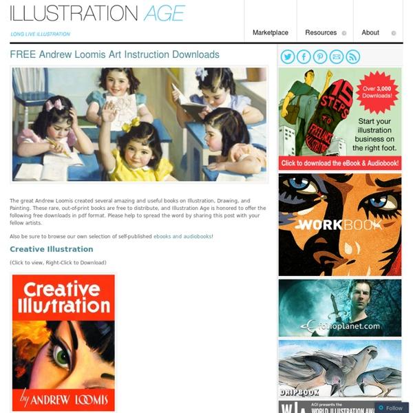 FREE Andrew Loomis Art Instruction Downloads