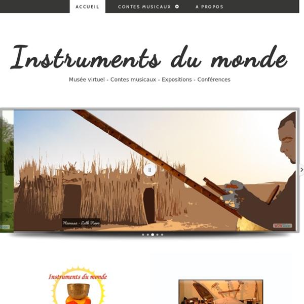 Instruments du monde - Alexis AUBRY