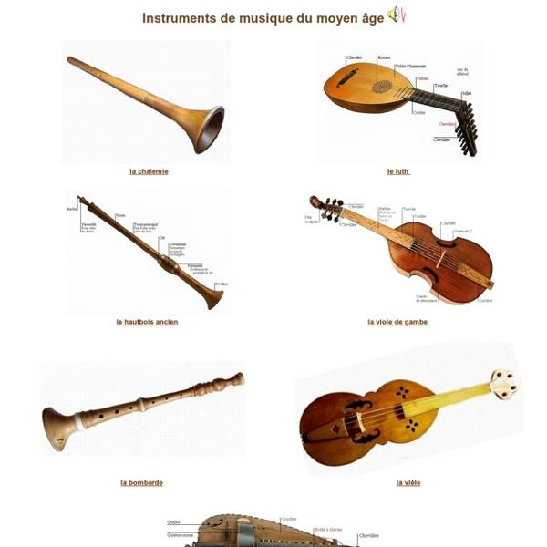 Top Instruments de musique du moyen âge | Pearltrees IN94