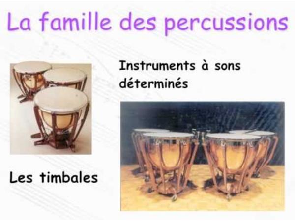 Instruments de l'orchestre