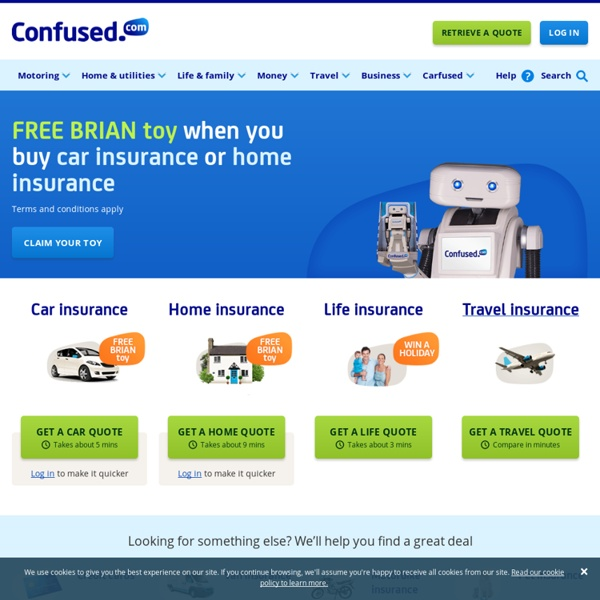 Find the best car insurance with Confused.com