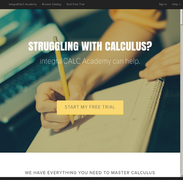 IntegralCALC.com - StumbleUpon