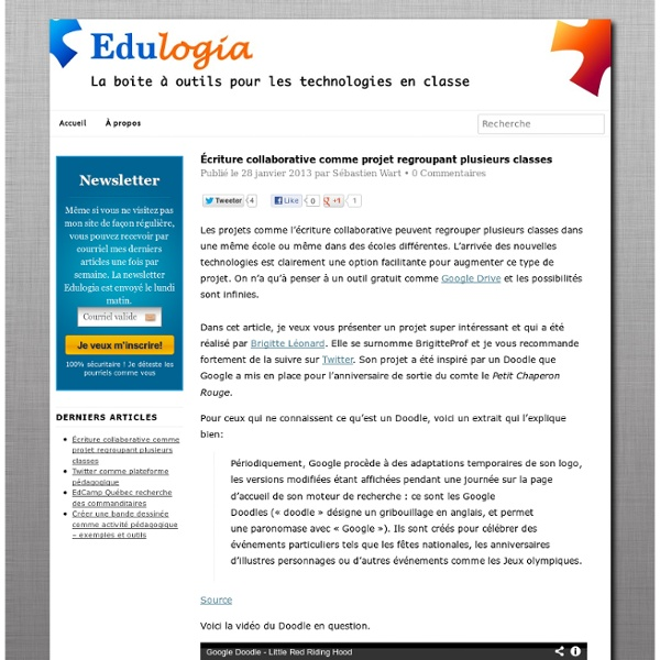 Édulogia - Des idées pour votre intégration technologique