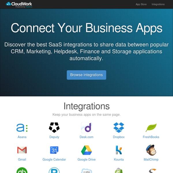 Cloud Business App Integrations - CloudWork