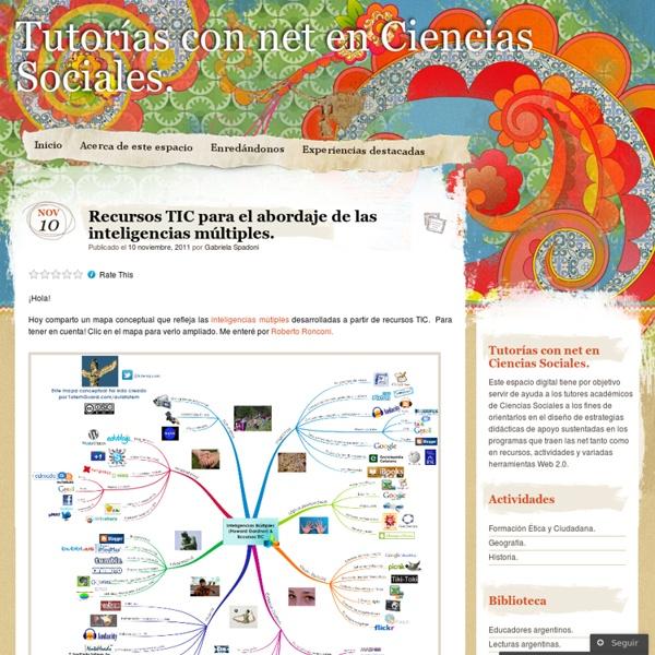 Recursos TIC para el abordaje de las inteligencias múltiples. « Tutorías con net en Ciencias Sociales.