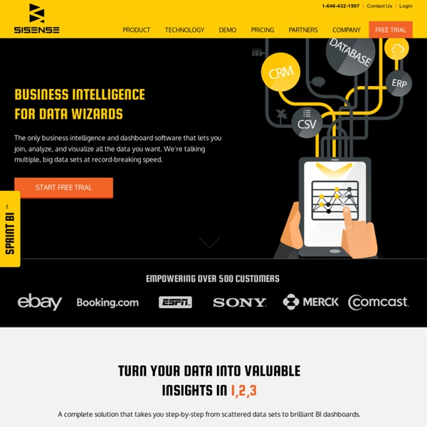 Business Intelligence Software - SiSense Prism