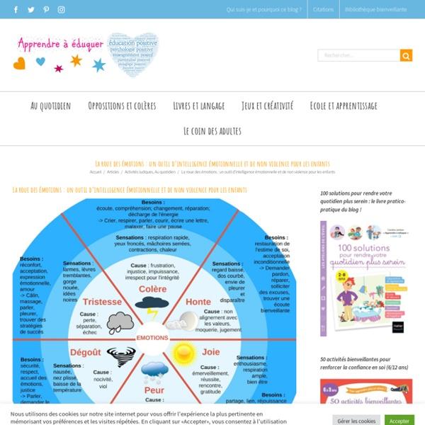 La roue des émotions : un outil d'intelligence émotionnelle et de non violence pour les enfants – Apprendre à éduquer