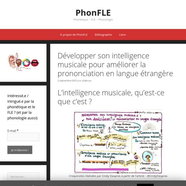 Développer son intelligence musicale pour améliorer la prononciation en langue étrangère