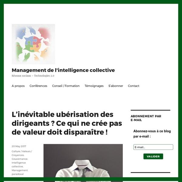Management de l'intelligence collective » Réseaux sociaux - Technologies 2.0