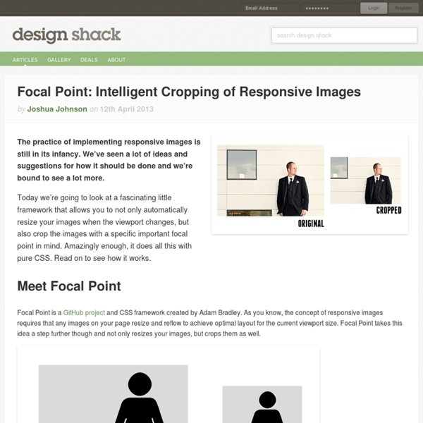 Focal Point: Intelligent Cropping of Responsive Images