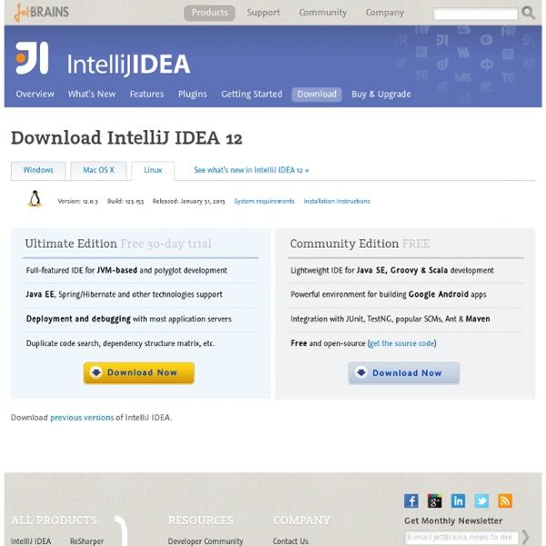 Download Latest Version of IntelliJ IDEA