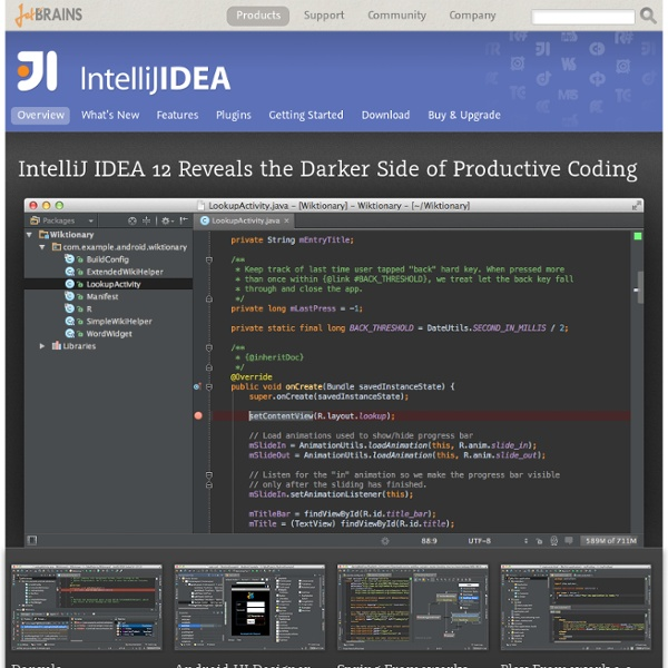 Best Java IDE to do more high-quality code in less time