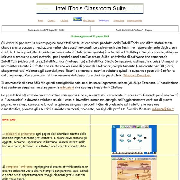 IntelliTools download (facilitare l'apprendimento di alunni disabili)