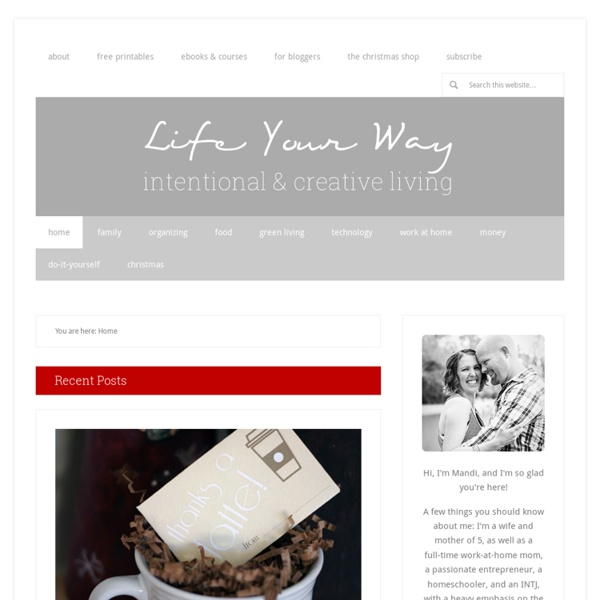 Life...Your Way — Personalized Solutions for Everyday Living