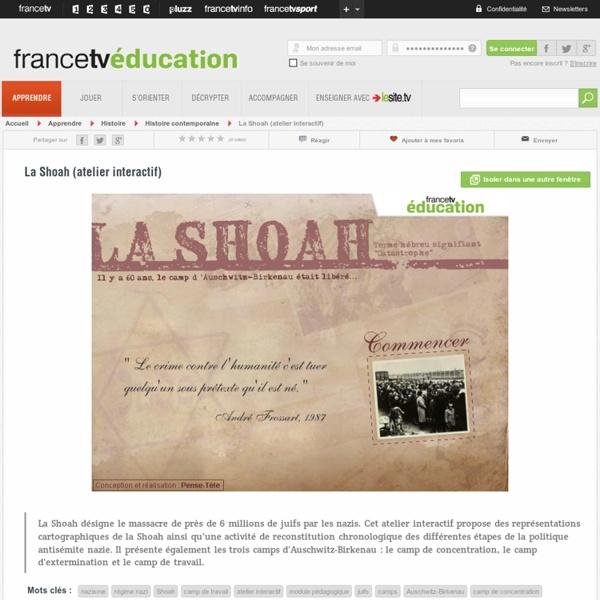 Un atelier interactif sur la Shoah