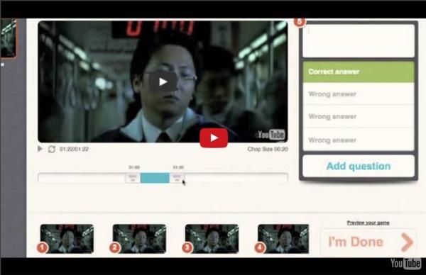 Tuto Vidéo: Créer des quizz vidéos interactifs en ligne avec le site Blubbr