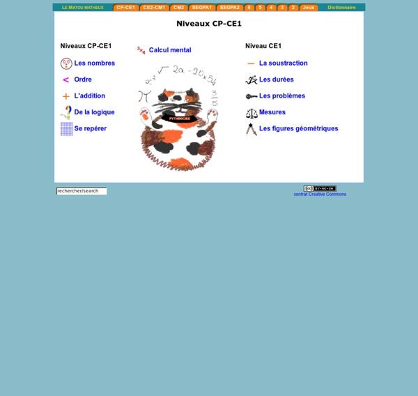 Exercices interactifs en mathématiques