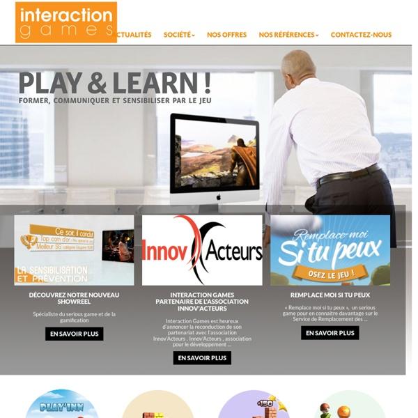 Interaction Games - créateur de Serious Games
