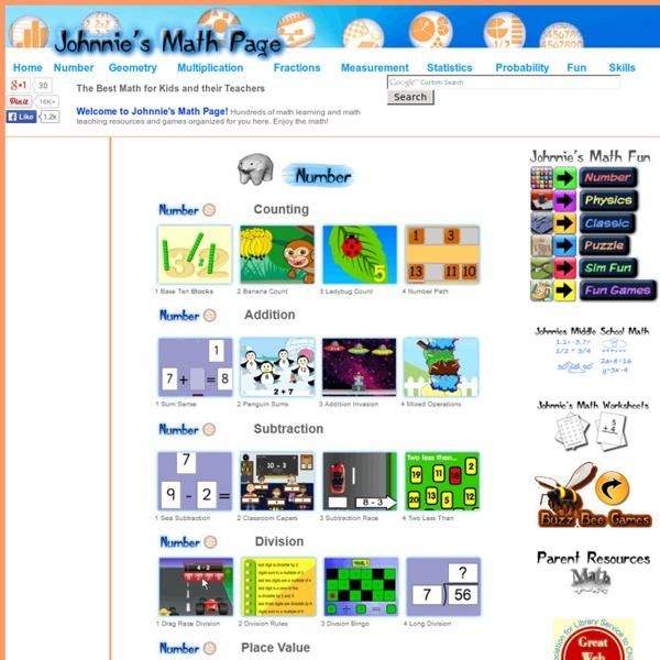 Of interactive math tools math activities and math games