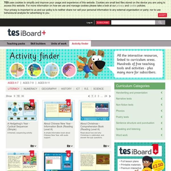 Interactive activity finder