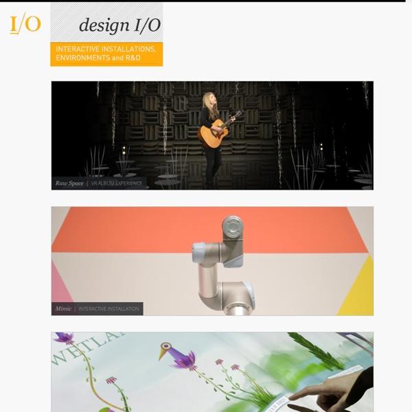Design I/O - Interactive Installations