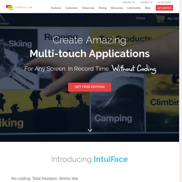 Create MultiTouch Pres - IntuiLab