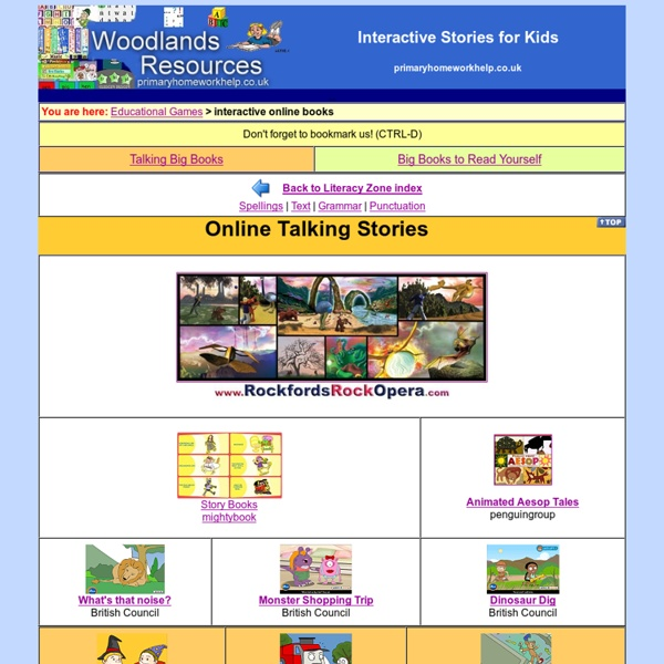Interactive Story Books online