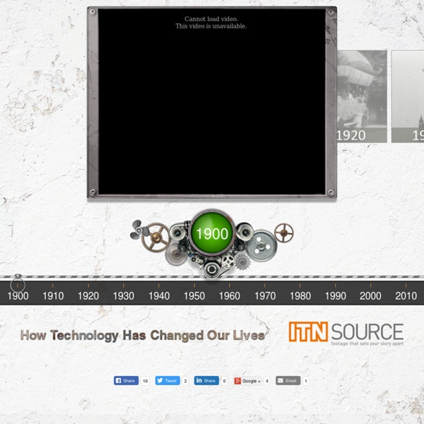 Interactive Science & Technology Timeline