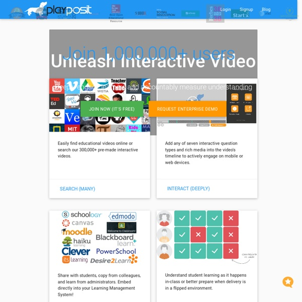 Interactive Video Learning