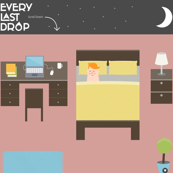 Every Last Drop – An Interactive Website about Water Saving