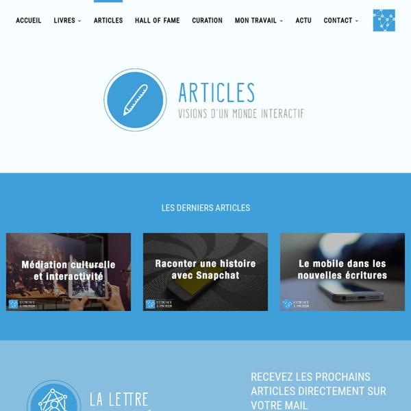 Le Guide du Nouveau Storyteller - Interactivité et transmedia
